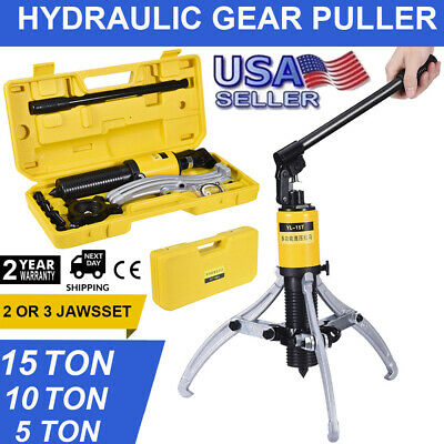 3in1 Hydraulic Gear Puller Pumps Oil Tube 3 Jaws Drawing Machine 5T 10T 15T PRO