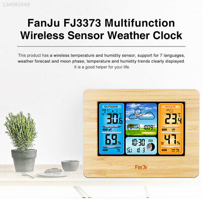 7644 FJ3373 Wireless Weather Station Snooze with Sensor Multifunction