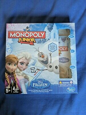 Monopoly Junior Frozen Edition Disney Family Game Age 5+