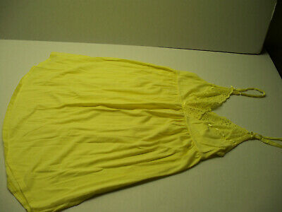3)- Victoria's Secret Cotton & Cotton/Blend Babydoll Slips, Chemise size M