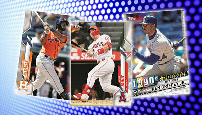 2020 Topps Series 1 Baseball Singles - Complete Your Set! ⚾️