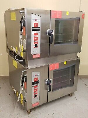 2012 Cleveland Lp Double Stack Convotherm Combi-Oven Convection Steamer Ogs-6.20