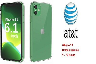 iPhone 11 AT&T FACTORY UNLOCK CODE SERVICE - ATT CLEAN IMEI FAST 1-72 Hours