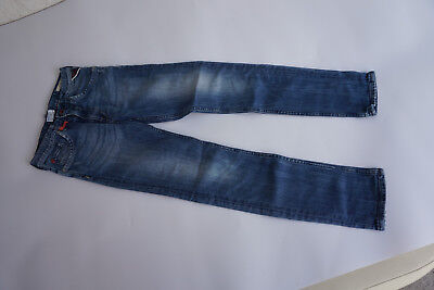 Replay Slim Kids Pants Stretch Jeans Gr.10 a Stretch Used Stonewashed Blue = 21