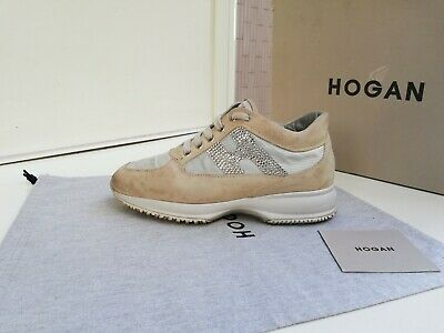 Scarpe Hogan N.37 Originali Interactive Donna Shoes Women Size,H in Swarovski