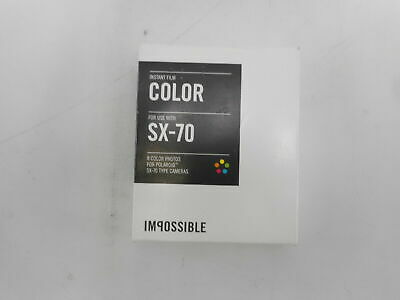 Impossible PRD2783 - Color Film for Polaroid Sx-70 Cameras, 8 Color Photos