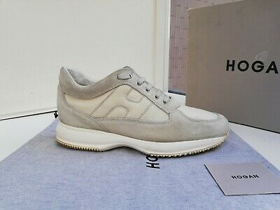 Scarpe Hogan N.44,5 (10,5) ORIGINALI Uomo Interactive Shoes Men Size Beige