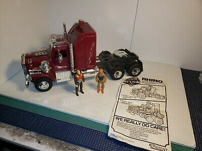 "/""VINTAGE/"" M.A.S.K /""Rhino/"" TRACTOR CHROME AIR BREATHER Kenner 1985 ORIGINAL PART"