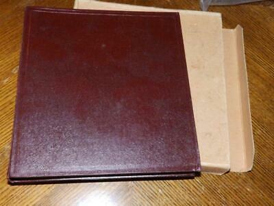 (4977) Gb & Commonwealth Collection In Old F.g Graduate Album + Slipcase