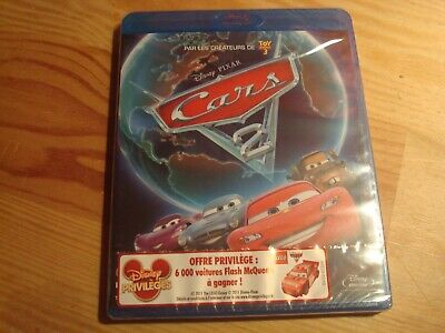 DVD BLURAY NEUF  : CARS 2  ( Disney - Pixar )