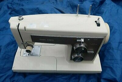 As Is Broken Sear Kenmore Sewing Machine, Model #158.19400 Zig Zag Pattern Rare