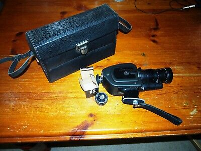 Beaulieu 4008 ZM Super 8 movie camera with Angenieux lens (fungussed)