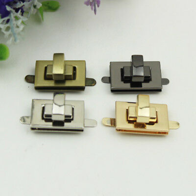 Metal Twist Turn Lock Buckle Snap Clasps Purse for Carft Bag Part Accessories