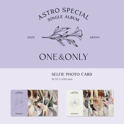 Astro - Special Single Album One&Only Photo Card