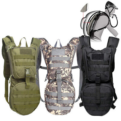 15L Outdoor Military Tactical Camping Hiking Trek Backpack Bag Hydration Pack US