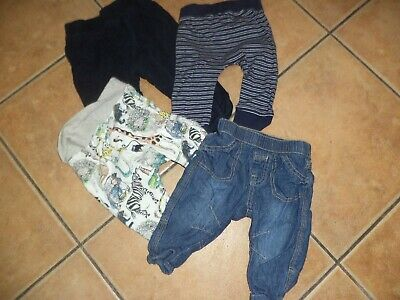 boys jeans and bottoms bundle age 3 - 6 months next matalan george