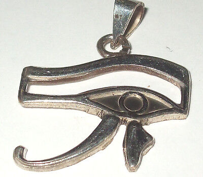 Ancient Egyptian All Seeing Eye of Horus 'Wedjat' Protection Symbol Earrings