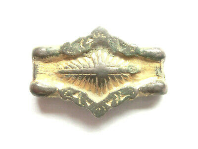 Amazing Celtic Gilded Silver Belt Fitting / Mount- Ancient Celtic relic WEARABLE