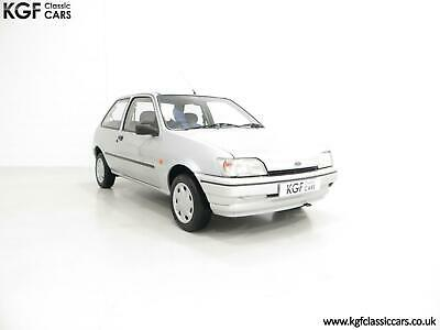 Top of the Final Fiesta Classic Range, Ford Fiesta Mk3 Cabaret with 15,210 Miles
