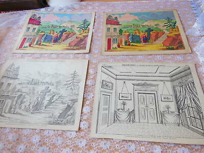 Victorian Large Pollock's Juvenile Drama/Theatre Sheets/Daughter of Regiment