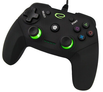 TRUST JOYSTICK WIRED COMPATIBILE PC PLAY PS3 joypad USB controller Gamepad PAD