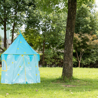 Outdoor Kids Playhouse Party Pop Up Children Play Tent Boys Palace Castle Indoor