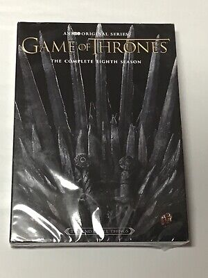 BRAND NEW SEALED Game of Thrones The Complete Eighth 8th Season 8 DVD SHIPS FAST