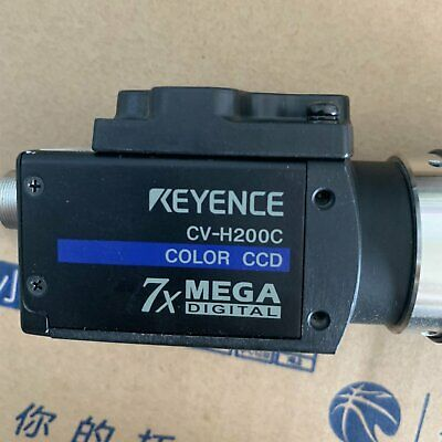 1PC used KEYENCE CV-H200C Digital color camera lens tested in good condition