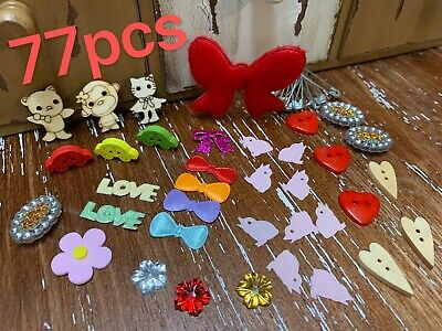 77pcs Children Colourful Kid Art Craft Materials Make Your Own Activity Play set