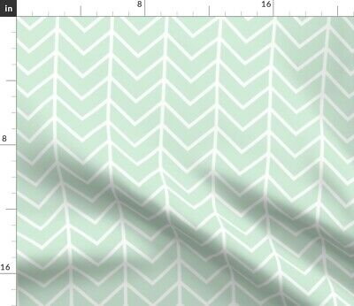 Chevron Ivie Cloth Co Geometric Baby Home Fabric Printed by Spoonflower BTY