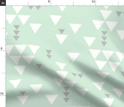 Triangle Ivie Cloth Co Geometric Baby Home Fabric Printed by Spoonflower BTY
