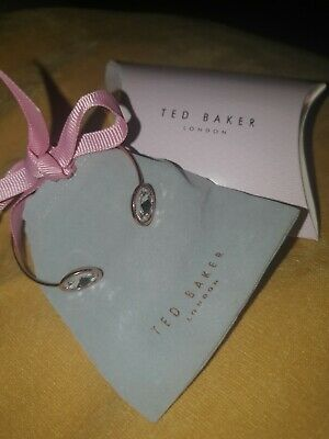 New Ted Baker Rose  Gold Thin Cuff Bangle Bracelet with Gift Pouch