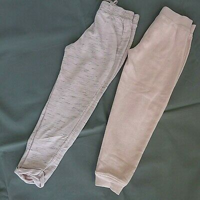 2 x Girls NEXT pink joggers jogging bottoms age 7 years