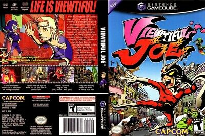 Viewtiful Joe (Nintendo GameCube, 2003) Very Good Condition with case