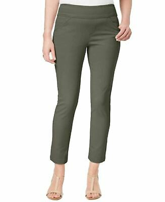 Style Co Petite Slim-Leg Pants Olive Sprig PS