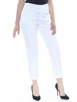 Style Co Ankle Skinny Pants Bright White M