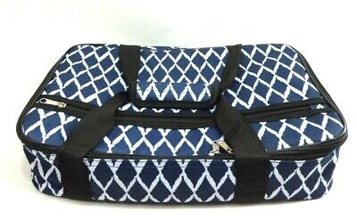 Insulated Padded Casserole Storage Carrying Bag Fits 16x10 Keeps HOT Potluck