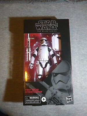 Star Wars Black Series First Order Stormtrooper Hasbro Disney 6 Inch