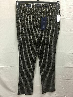 Charter Club Seabiscut Lexington Pants BLACK 18
