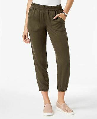 Style Co Tencel Jogger Pants Deep Moss 8