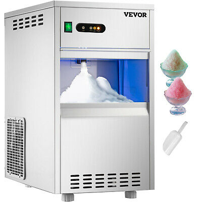 Snow Flake Ice Maker Automatic Crusher Ice Machine 44lb Stainless Steel