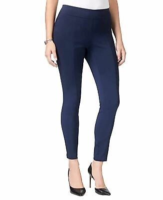 Style & Co Pullon Ultra Skinny Pants  Navy PM