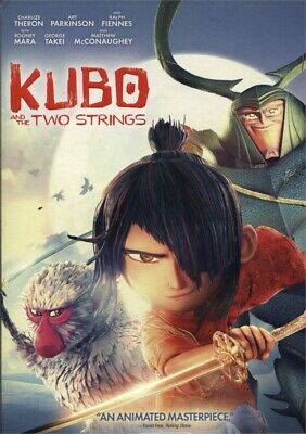 Kubo and the Two Strings (DVD, 2016) New, Matthew McConaughey, George Takei