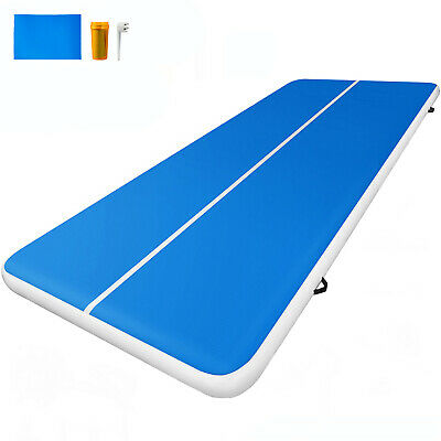 Air Track 16FT Inflatable Airtrack Tumbling Floor Gymnastics Mat Home Gym Sports