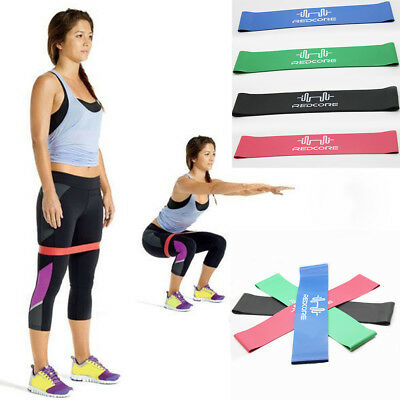 Hot 1Pc Pro Band Gym Fitness Training Sport Resistance Loop Power Yoga Bands AAA
