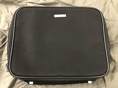 Gucci Black Double Sided Carry On Travel Bag With Shoulder Strap Brand New