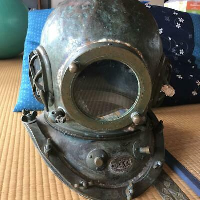 Antique Diving Helmet Toa Submersible Marine Vintage