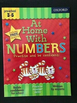 At Home With NUMBERS KS1  Ages 3-5 HELP WITH HOMEWORK MATHS KS1 PRESCHOOL