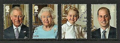 GB Stamps 2016 'The Royal Family' - fine used