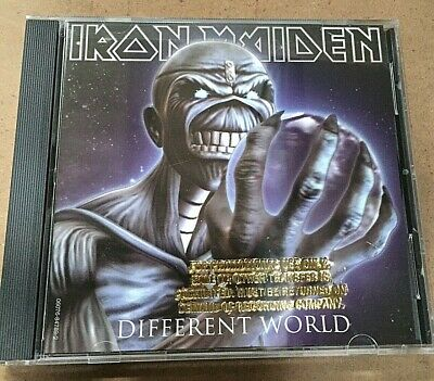 Iron Maiden – Different World - CD Promo USA First Print 060768478923 -MINT NEW